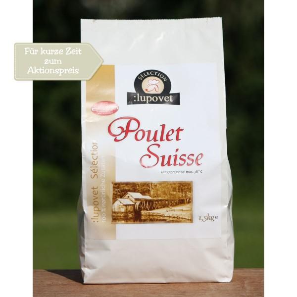 Poulet Suisse 1,5 kg Aktion