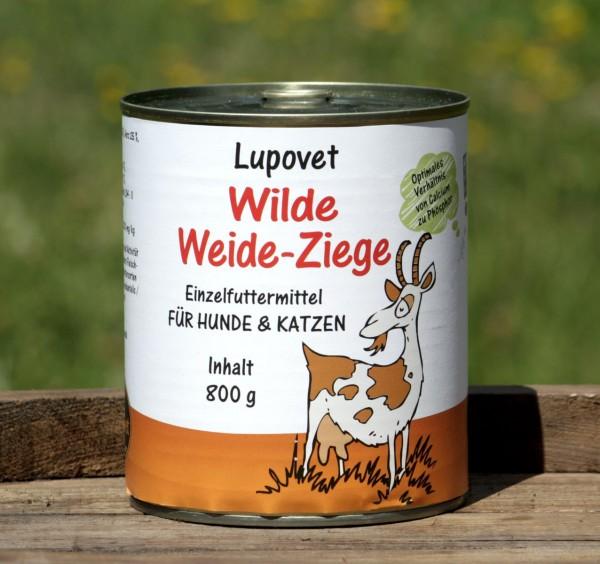 LupoVet Wilde Weide-Ziege 800g