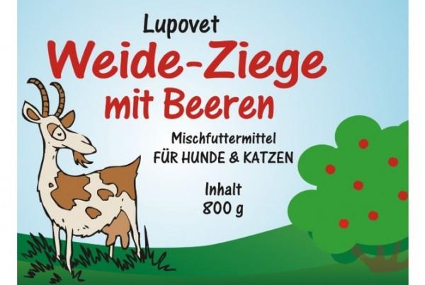 LupoVet pure Weide-Ziege mit Beeren