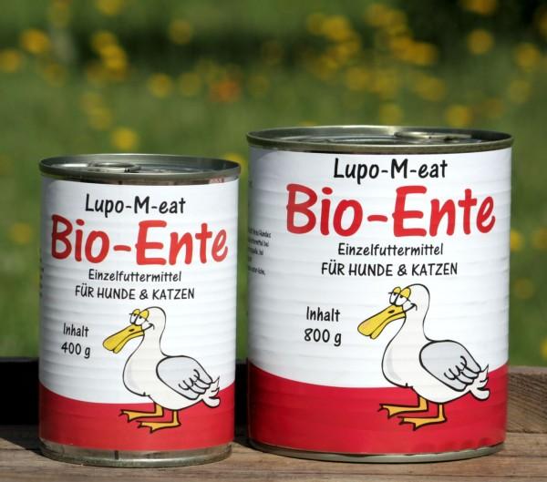 LupoVet Bio-Ente 400g und 800g